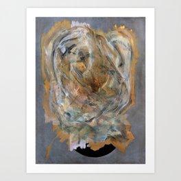 Inshallah (oil on canvas) Art Print