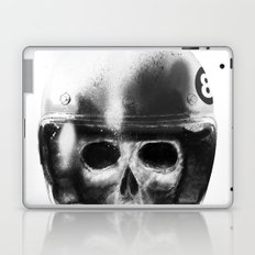 death racer Laptop & iPad Skin