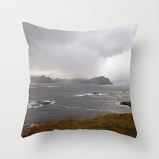 Lofoten Seaview Throw Pillow