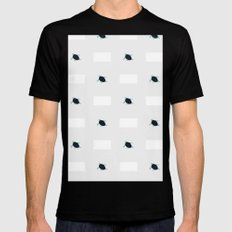 infinituplets MEDIUM Black Mens Fitted Tee