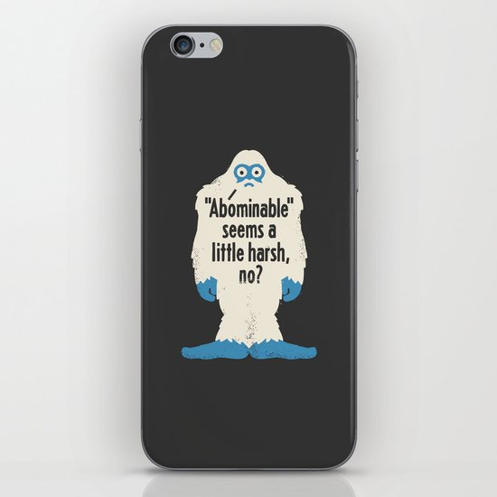 Not Cool iPhone Skin