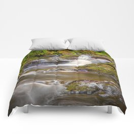 Glenariff Falls Comforters