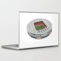 arsenal Laptop & iPad Skins featuring The Emirates Stadium by Conal Deeney