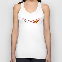 kill la kill Tank Tops featuring Kill La Kill - Senketsu by Kamaltmo