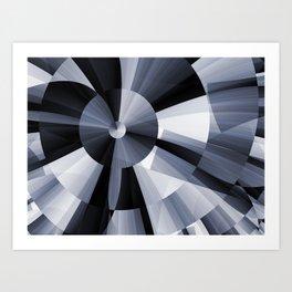 Radiating Art Print