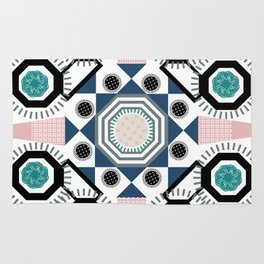 Pastel Mandala Rug