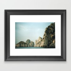 Capri 3 Framed Art Print