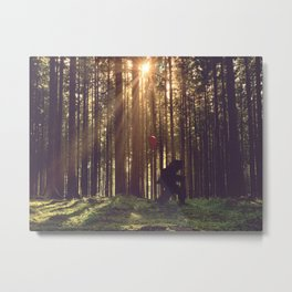 The Long Walk Home ... Metal Print