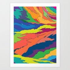 Liquid Art Print