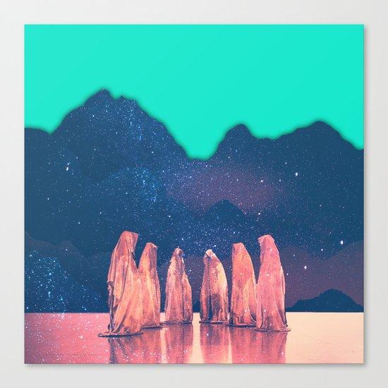 Chimera Synthesizer Canvas Print