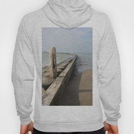 The wooden breackwater Hoody