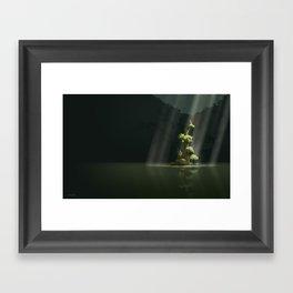 secret Framed Art Print