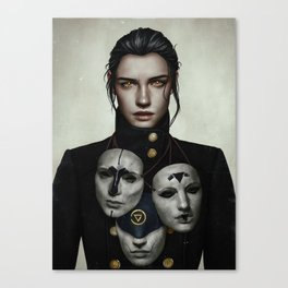 The Collector Canvas Print