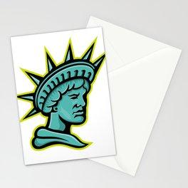Lady Liberty or Libertas Mascot Stationery Cards