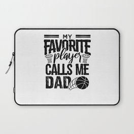 Calls me Basketball Dad Laptop Sleeve