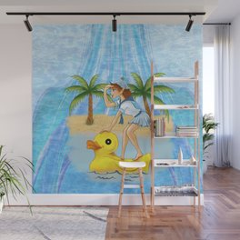 Rubber Ducky with Pixie – Choose Your Highway Wall Mural