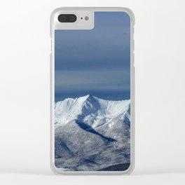 Colorado Mountains Clear iPhone Case