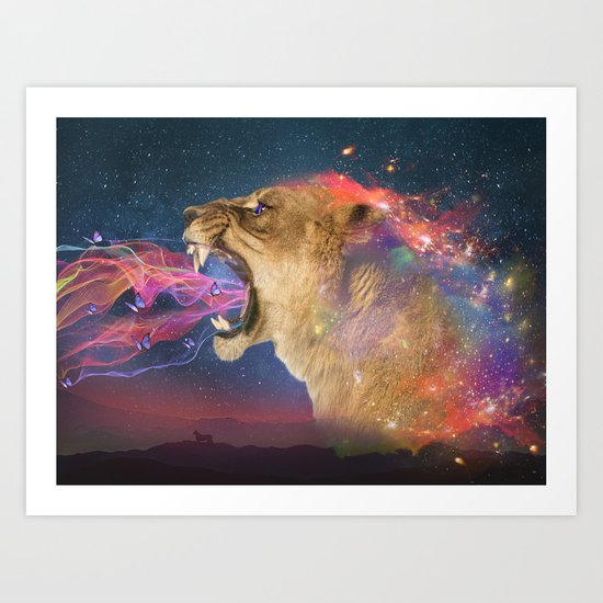 """A Love Written In The Stars - """"Andromeda"""" Art Print"""