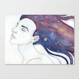 Follicular Galaxy Canvas Print