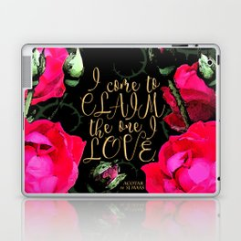 ACOTAR - Claim the one I love Laptop & iPad Skin