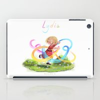 lydia martin iPad Cases featuring Lydia by Louis Van Driessche