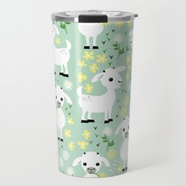 Baby goats Travel Mug