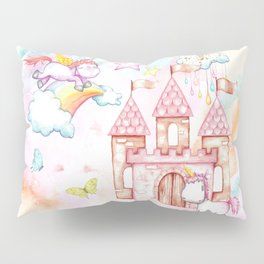 Unicorn Avalon Island Pillow Sham