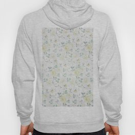 Bohemian baby yellow green vintage roses floral Hoody