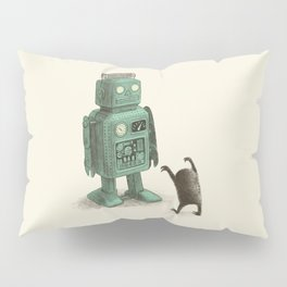Robot Vs Alien Pillow Sham
