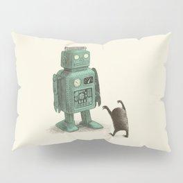 Robot Vs Alien Pillow Sham