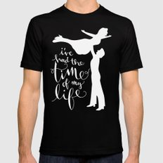 Time of My Life MEDIUM Black Mens Fitted Tee