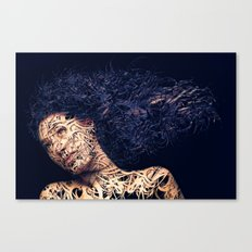 The Lines of a girl. Canvas Print