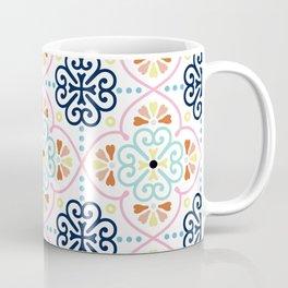 Pastel Moroccan Pattern Coffee Mug