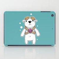 pilot iPad Cases featuring Polar Pilot by Freeminds