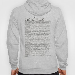 US Constitution - United States Bill of Rights Hoody