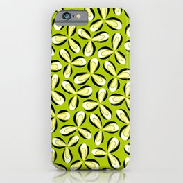 Spring Floral Print iPhone Case