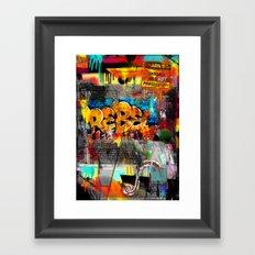 Rebel. Framed Art Print