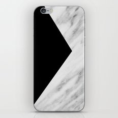 Black Marble Collage iPhone & iPod Skin