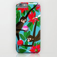 Spider Monkeys Holiday Card Slim Case iPhone 6s