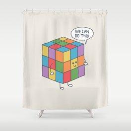 Puzzle Shower Curtain