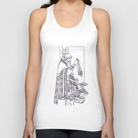 christian Tank Tops featuring Christian service by Shelby Claire