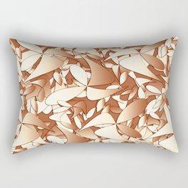 Pattern brown 156 Rectangular Pillow