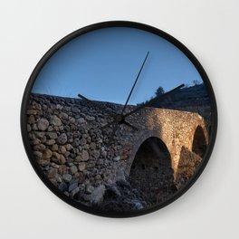 Puente Romano Wall Clock