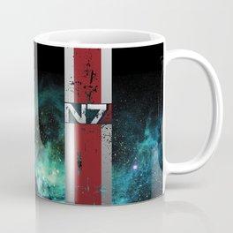 N7 Battle Damaged Armor Coffee Mug