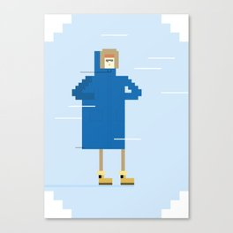 Snow Guy Canvas Print