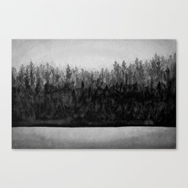 The Forest Line Canvas Print
