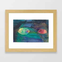 Untitled (Eyes) Framed Art Print