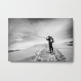 follow the ridge Metal Print