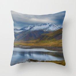 Snaefellnes Peninsula Throw Pillow