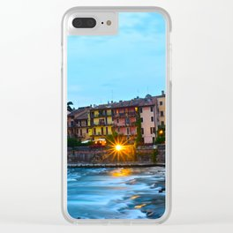 The Flow of Florence Clear iPhone Case